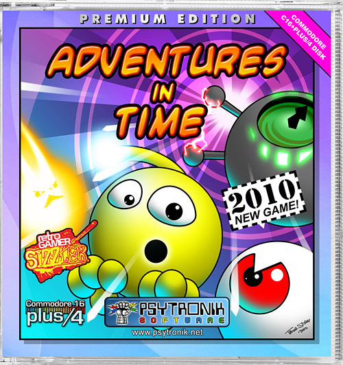 Adventures in Time (C16 + Plus/4)