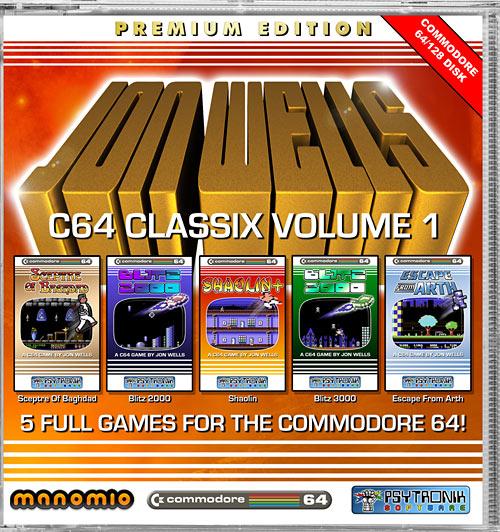 Jon Wells C64 Classix Vol. 1