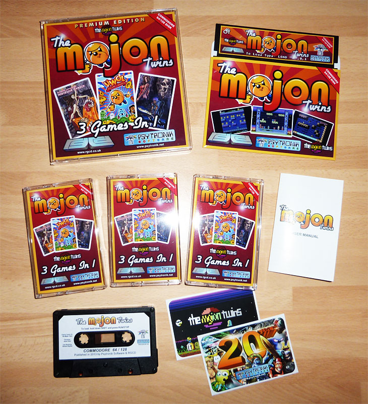 The Mojon Twins 3 Games In 1 C64