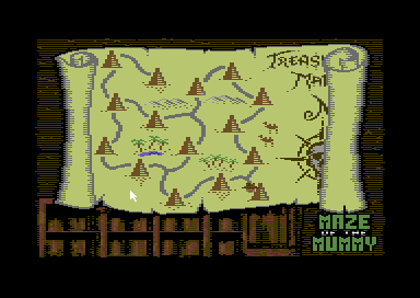 Maze Of The Mummy (C64)