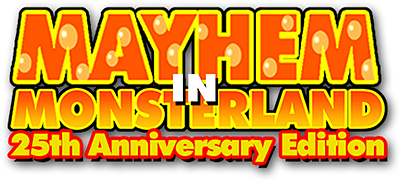 Mayhem in Monsterland logo