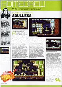 Retro Gamer Soulless Review